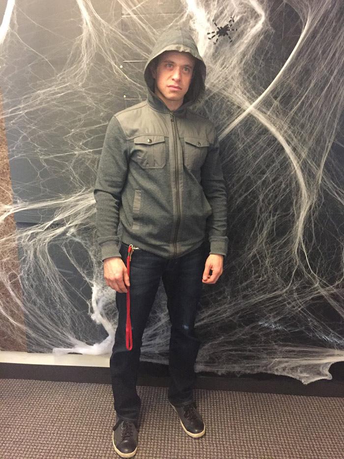 Matt as Mr. Robot