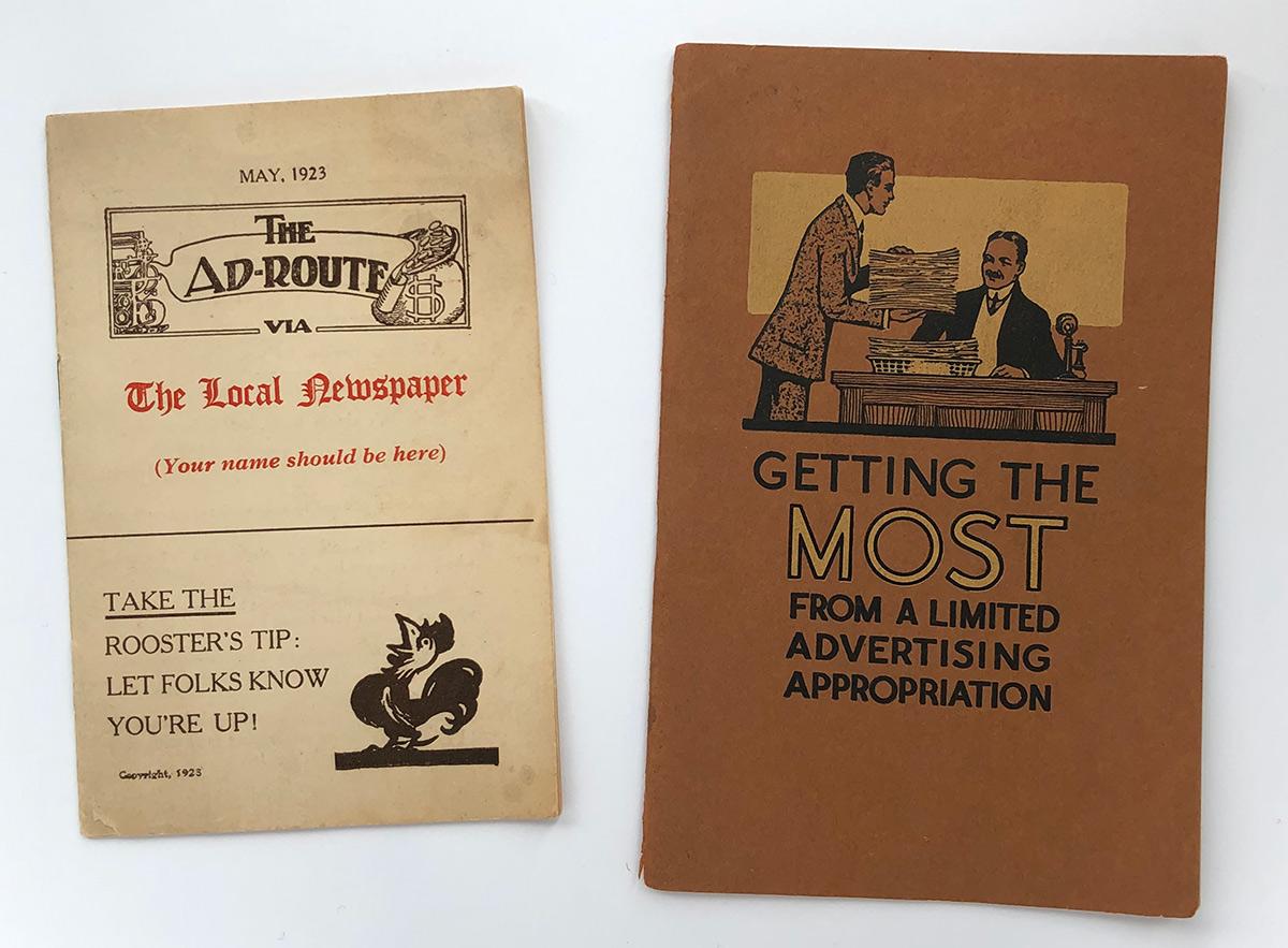 Antique Ad Book
