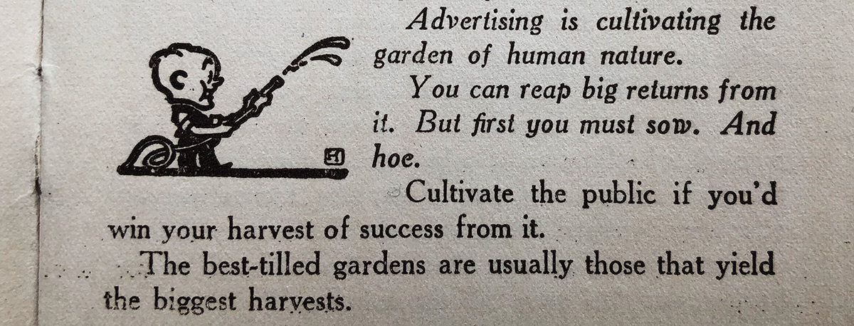 Excerpt from an antique advertising book