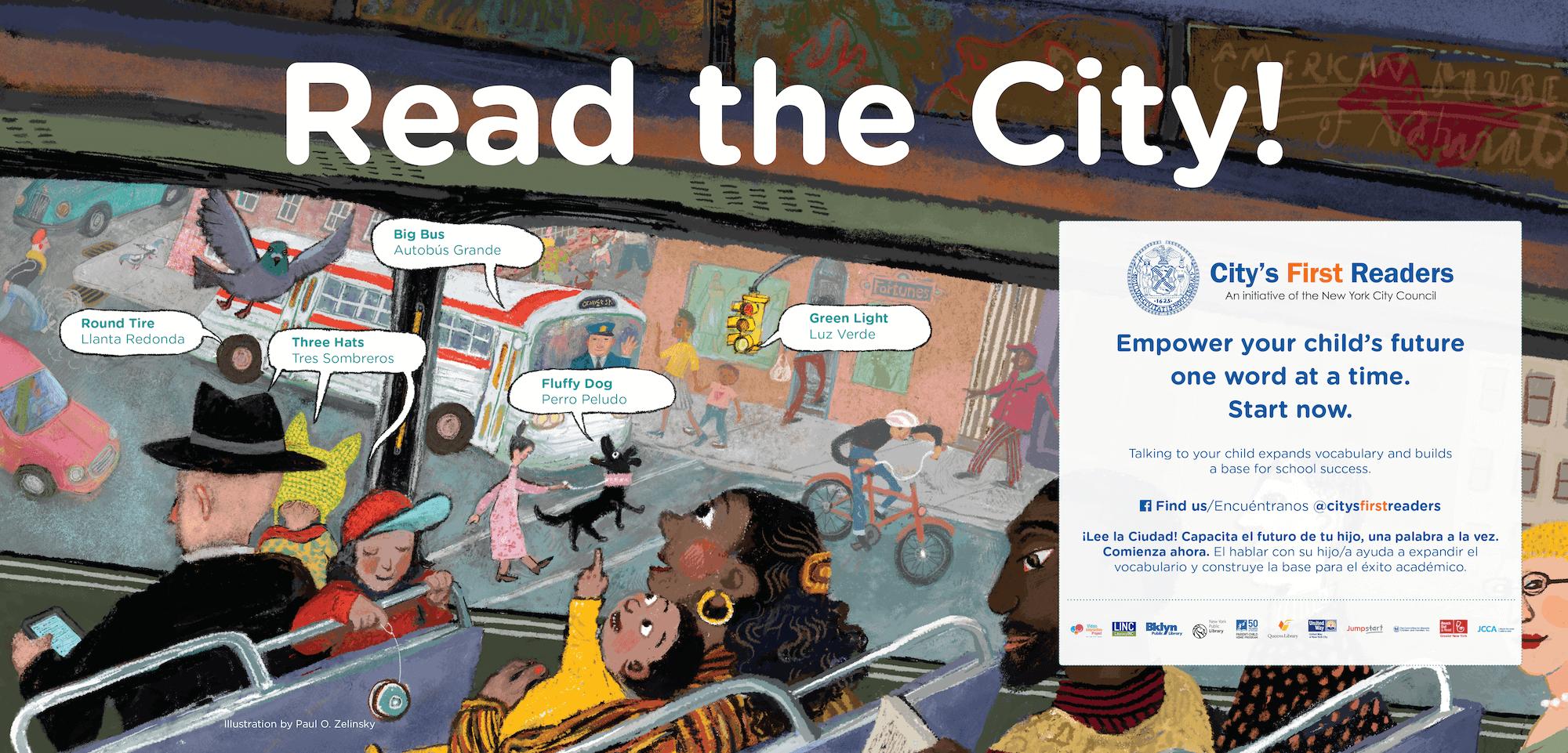 Read the City ad using Paul O. Zelinsky art